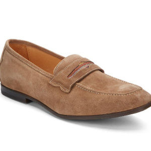 Sandhills Suede Penny Loafers